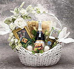 gift basket, gift, gourmet, fruit, custom, sarris, sand hill berry, candle, lotion